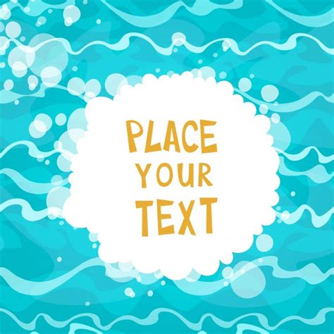 called party pattern usage cdr cartoon water background with text template vector free