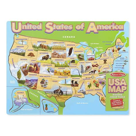 and doug usa map puzzle puzzles kid s puzzles educational puzzles radar toys