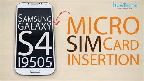 Micro Sim Card Template For Samsung Galaxy S4 by Samsung Galaxy S4 Gt I9505 Micro Sim Card