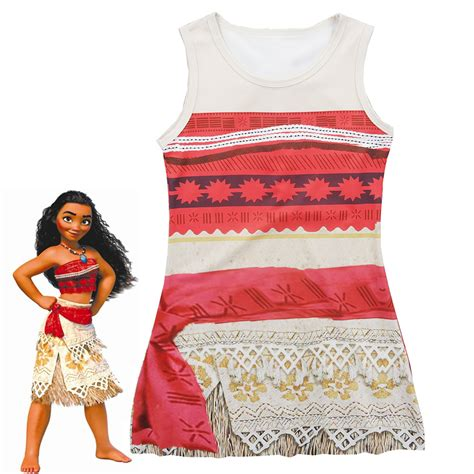 Dress Kid Bungashan 3 aliexpress buy 2017 new moana dress princess shirt dress moana