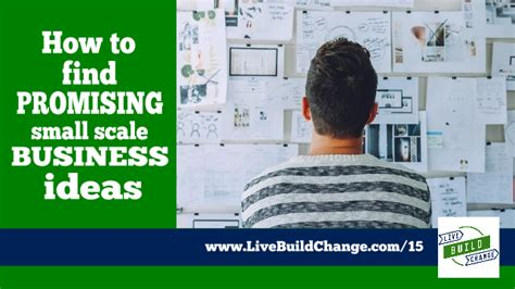Small Scale Home Business Ideas How To Find Promising Small Scale Business Ideas Ep 15