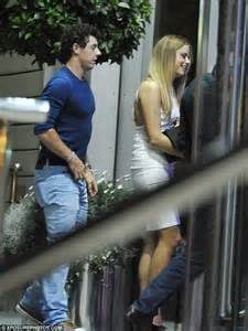 Tas Wanita Blue Denim By Golfer 578 rory mcilroy and pal enjoy evening with a bevy of beautiful daily mail