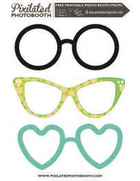 free printable photo booth props glasses pinterest the world s catalog of ideas