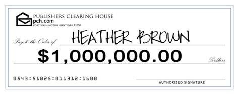 Publishers Clearing House Check Image - publishers clearing house party ask anna