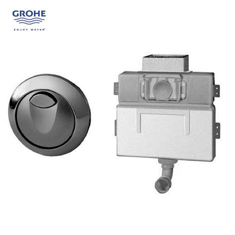 grohe toilette grohe eau2 concealed cistern and button uk bathrooms