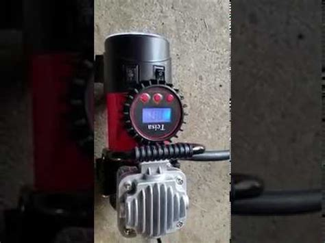 tcisa portable air compressor review youtube
