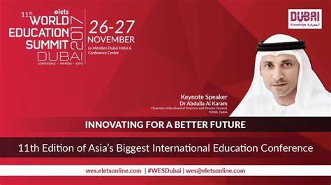 world education summit  dubai youtube