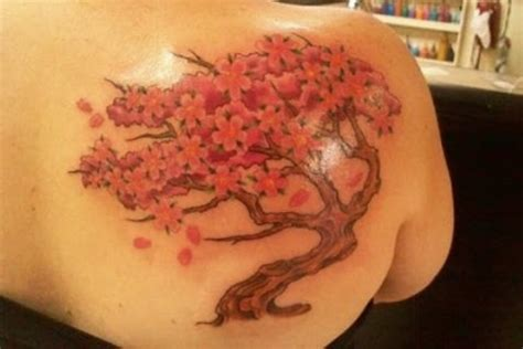 japanese cherry blossom tattoo on shoulder 24 gorgeous cherry blossom tattoos pretty designs