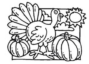 turkey pumpkin coloring pages thanksgiving kid