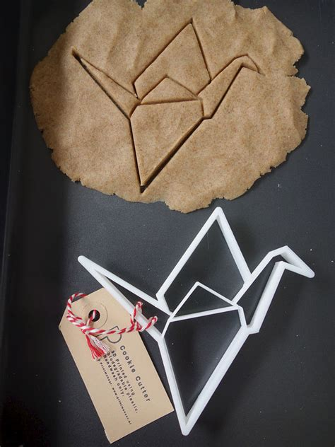 Origami Cutter - origami crane cookie cutter quite
