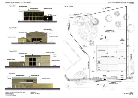 plan masse architecture pinterest r 233 alisation d une maison atelier suivi de chantier