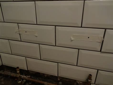 how to drill through bathroom tiles kezzabeth co uk uk home renovation interiors and diy