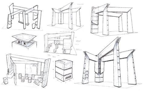 booth design sketch exhibitor2013 engineering construction agam blog