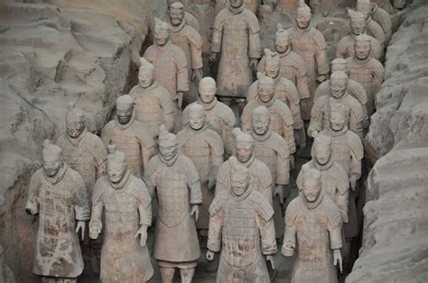 lade in terracotta terracotta warriors an army for the afterlife
