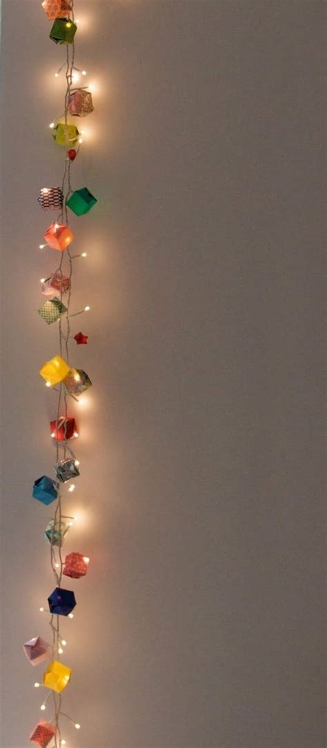 Paper Cube String Lights Don - 1000 ideas about string lights on