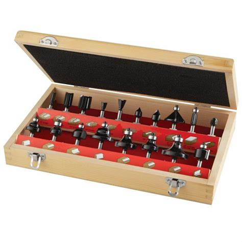 Router Bits Set diablo 1 2 in rabbeting bit and bearing set dr32522 the home depot