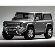 Concept Car Of The Week Ford Bronco 2004  Design News