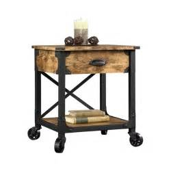 Rustic Side Table Rustic Nightstand Table Furniture Bedside Storage Wood Vintage Antique Set Of 2 Ebay