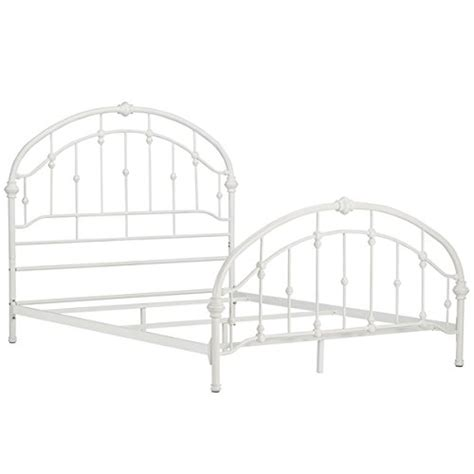 White Metal Headboard And Footboard by Product Reviews Buy White Antique Vintage Metal Bed