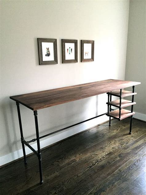 steel pipe standing desk the quot wesley quot desk standing desk seated desk