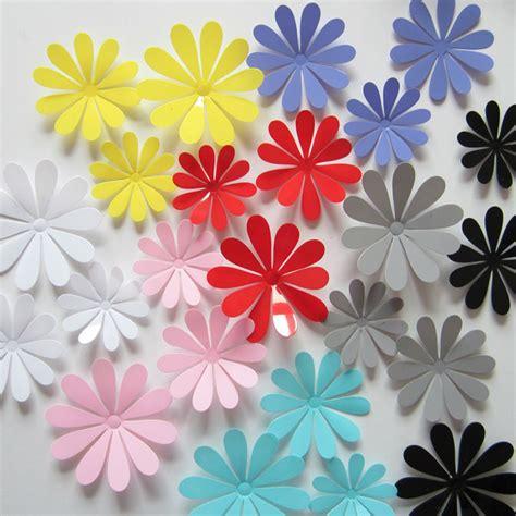 designed by arcadia floral home decor floral design 12pcs 3d flower sticker art design decal wall sticker home