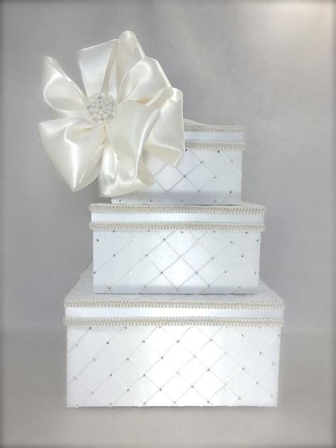 Wedding Envelope Box With Lock by Dramatic Quilted Diamonds Wedding Card Box Wedding Card