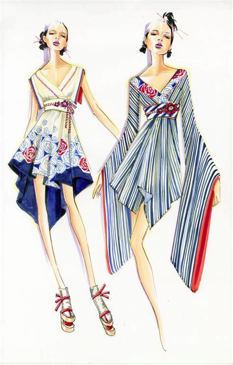 fashion illustration school design illustration by paul keng summer of at otis