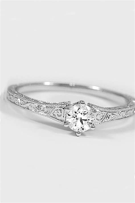 7 Engagement Rings From Since1910 by 36 Simple Engagement Rings For Who Classic