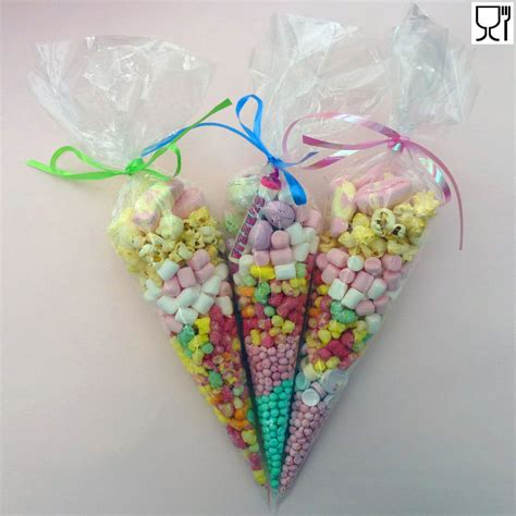Sweet Bag bags clear cone bags cello cellophane sweet display sweet large ebay