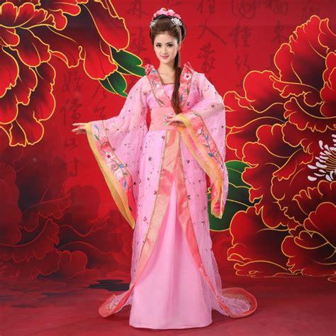 chinese traditional princess clothing girl trailing hanfu