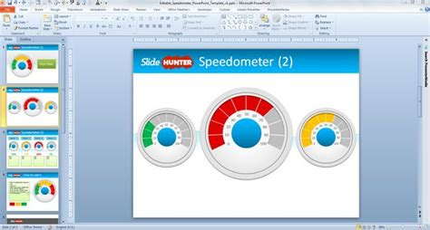 classyescort card templates speedometer chart in excel 2007 free