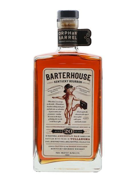 barter house bourbon barterhouse 20 year old bourbon orphan barrel the whisky exchange