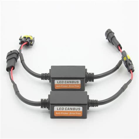 capacitor resistor led 2pcs x led car warning canceller capacitor error free load resistor obd led canbus decoder for