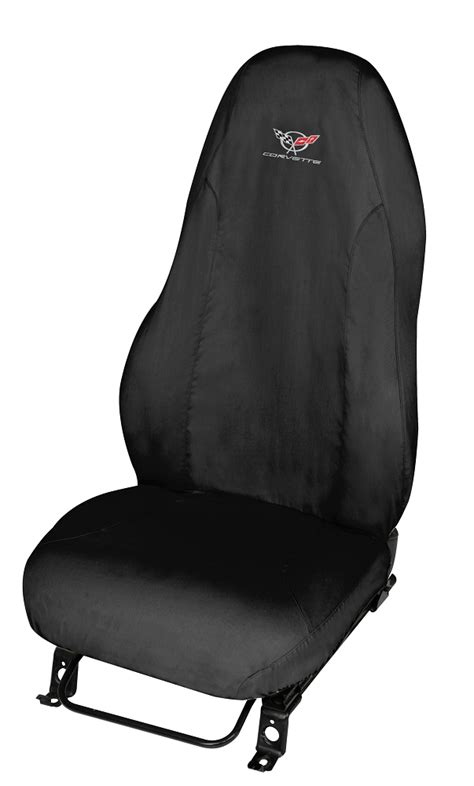slip on seat covers c5 corvette 1997 2004 embroidered slip seat covers