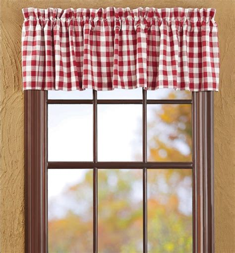 red check curtains red check drapes pictures to pin on pinterest pinsdaddy