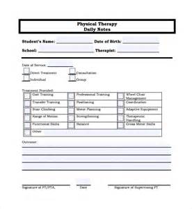 therapy notes template therapy note template physical therapy therapy note
