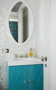 Turquoise Bathroom Vanity Turquoise Vanity Contemporary Bathroom Philip Gorrivan Design