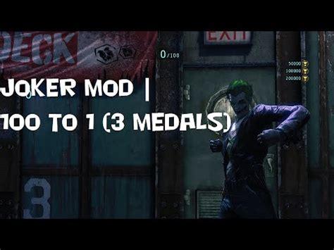 Modification Origins by Batman Arkham Origins Joker In Challenge Mode Mod 100 To