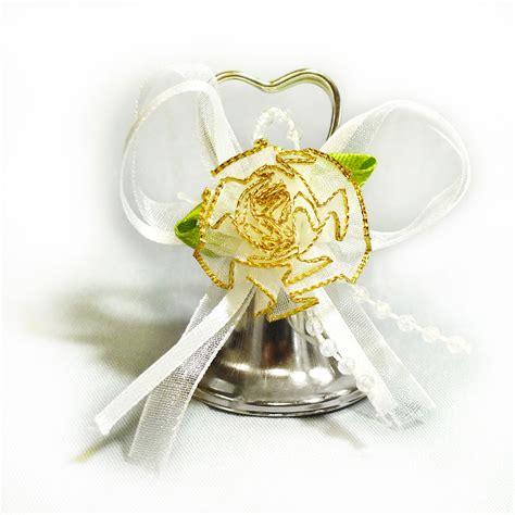 Wedding Bell Foam by Ifavor123 24pcs Silver Shaped Wedding Bells