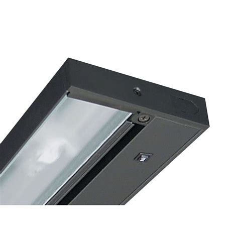 commercial electric led under cabinet lighting commercial electric 12 in led silver under cabinet light