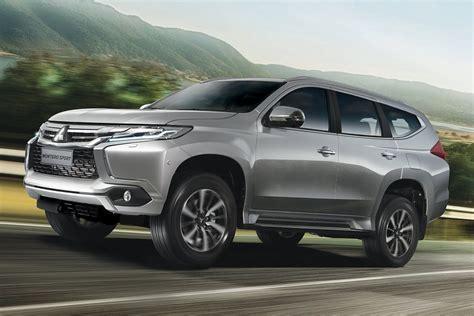 mitsubishi sports car philippines mitsubishi montero sport tops mid sized suv sales in