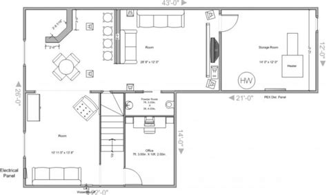 basement floor plans with bar 20 artistic basement plans layout home building plans