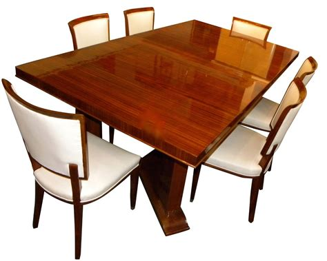 Art Deco Dining Room Furniture for sale   Tables and Chairs   Art Deco Collection