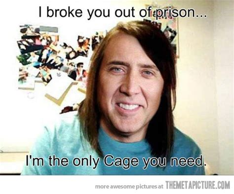 Nicolas Cage Face Meme - overly attached nicolas cage the meta picture