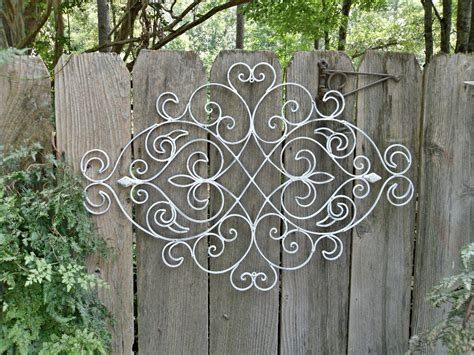 15 best collection of wrought iron garden wall