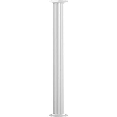 decorative columns home depot brown 42 in outdoor decorative column fscb42 the home depot