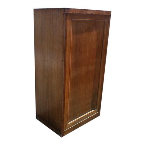 "56.5"" Vintage Industrial Age Wood Filing Cabinet"