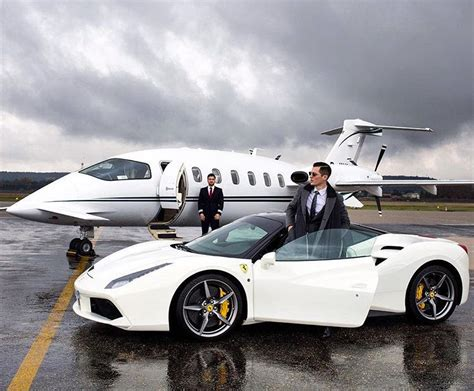 lamborghini private jet pic of the day the milliardaire