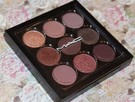 Eyeshadow X 9 Purple Times Nine paleta sombras mac eye shadow x9 burgundy times nine