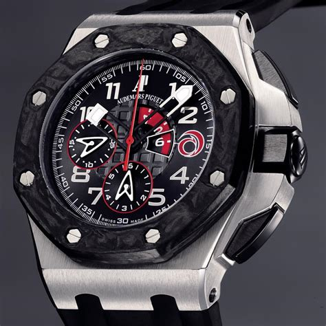 Ap Royal Oak Offshore Swiss Eta Best Edition Navy On Blue Leather best swiss audemars piguet royal oak offshore alinghi replica watches
